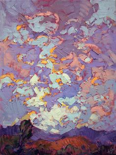Cloudscape by modern oil painter Erin Hanson
