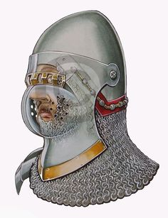 Armour Illustrations: Illustration of Ralph de Stafford