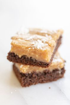 Lower Excess Fat Rooster Recipes That Basically Prime This Peanut Butter Ooey Gooey Butter Cake Recipe Is Melt-In-Your-Mouth Perfection. Rich, Gooey, Chocolate-Y, It's A St. Louis Classic Everyone Will Love Ooey Gooey Butter Cake, Creamy Peanut Butter, Butter Cakes, Chocolate Butter Cake, Chocolate Recipes, Baking Recipes, Cake Recipes, Dessert Recipes, Baking Desserts
