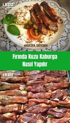 How to make lamb ribs in the oven - Meat Dishes - .-How to make lamb ribs in the oven – Et Yemekleri – …-Wie man Lammripp… How to make lamb ribs in the oven – Meat Dishes – My # …- Wie man Lammrippen im Ofen macht – Meat Dishes – My # the - Lamb Ribs, Pork Ribs, Barbecue Recipes, Pork Recipes, Cooking Recipes, Ribs In Oven, Grilling Sides, Cooking On The Grill, Turkish Recipes
