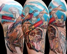 Tattoo Pictures: Hunting Tattoos-A Wild New Tattoo Idea