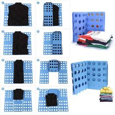 Priduct Creative Clothes T Shirt Top Folder Magic Flip Folding Board Children Laundry Organizer Lazy Supplies Random