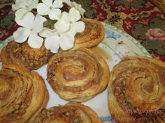 Cinnamon Cake, Something Sweet, Greek Recipes, Food To Make, Muffin, Food And Drink, Bread, Breakfast, Ethnic Recipes