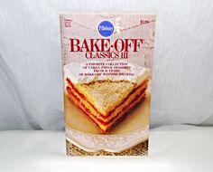 Vintage Pillsbury Bake Off Classics cookbook by VickiesVintageroom