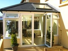Ideal Roofs Ltd provide you most popular and best conservatory roofing options like solid roof conservatory, conservatory roof panels, conversion, insulation ideas and more. Glass Conservatory Roof, Conservatory Roof Insulation, Conservatory Ideas, Roofing Options, Roofing Systems, Roof Styles, House Styles, Warm Roof, Sunroom Windows