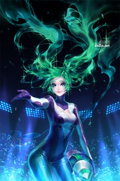 Fanart - DJ Sona by shilin on DeviantArt