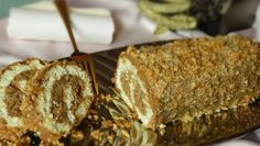 Krémes diótekercs Poppy Cake, Hungarian Recipes, Hungarian Food, Salty Snacks, Holiday Dinner, Cake Cookies, Banana Bread, Meal Planning, Food And Drink