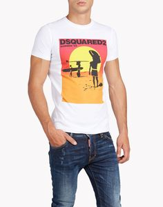 sexy slim fit t-shirt トップス メンズ Dsquared2