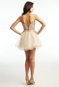 Prom Dresses 2013 - Short Two-Piece Dress with Corset Back from Camille La Vie and Group USA