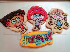 Galletas decoradas 14 cm de Distroller. Decorated cookies Distroller.  #petitandsweetcookies