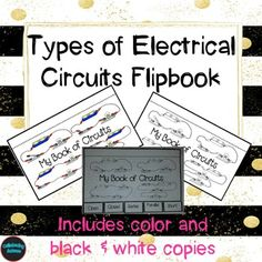 About this product:*This product is to help give another way of presenting or recording information about the different types of electrical circuits. *Each section for the different circuits have pictures to help students visualize what the circuits could possibly look like.*In the presentation I have included for each section of the different circuits the definition and diagram/picture.
