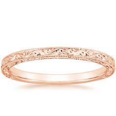 14K Rose Gold Hudson Ring from Brilliant Earth.