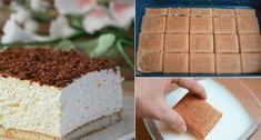 Skvělý tip na rychlý koláč na kterém si pochutná celá Vaše rodina. Za 15 minut je hotový! Vanilla Cake, Bread, Desserts, Cheesecake, Hampers, Tailgate Desserts, Deserts, Brot, Cheesecakes