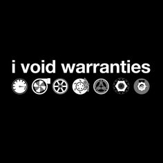 i void (car) warranties shirt