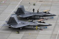 The first was build and flown by Lockheed Martin, teamed with Boeing and General Dynamics in The protype aircrafte designated… Stealth Aircraft, Fighter Aircraft, Military Jets, Military Aircraft, Military Weapons, The War Zone, F22 Raptor, Air Force Bases, Jet Plane
