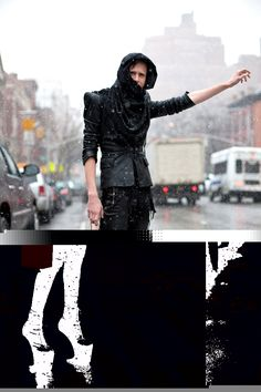 I love these more experimental looks. I think the key to a really unique look is to blow it up to extremes like this and then tone it down until it's acceptable to wear on the street. Goth, Key, Street, Unique, How To Wear, Fashion, Gothic, Moda, Unique Key