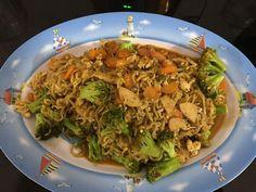 Menu Ramadhan Mie Masak Sayur