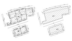 North Facing Duplex House Plan With Furniture Layout