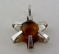 Finland Silver Pendant by Elis Kauppi for by athenasvintage, £45.00