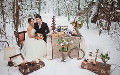 зимняя свадьбы