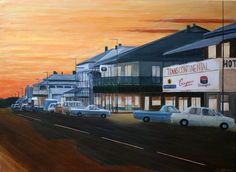 Sunset at Quorn. South Australia