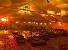 just plain awesome Bedouin tent interior