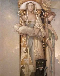 Michael Parkes look at the panther