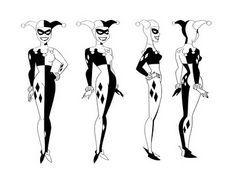 Cartoon Concept Design: Batman The Animated Series Model Sheets