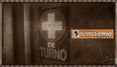 Semanario / Junin Regional: Farmacia de turno para el 14/03