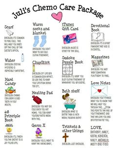 Here is a go to guide for suggestive items and themes for your next care kit. #HelpingWomenNow