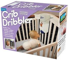 Feed your baby like a hamster. // 21 Inane Baby Products For Questionable Parents