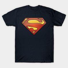 Superhero Krypton SUPERMAN T shirt Personalised or plain small 5 XL Youths Men`s