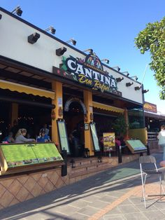 Cantina & Don Rafael, Puerto del Carmen, Lanzarote food with a difference