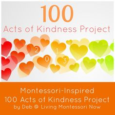 Toddler Approved!: Kindness Project for All Ages {Living Montessori Now}