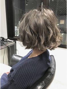 Beautiful Long Hair, Gorgeous Hair, Short Bob Hairstyles, Pretty Hairstyles, Wavy Hair, New Hair, Medium Hair Styles, Curly Hair Styles, Asian Short Hair