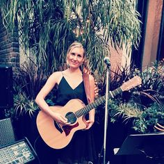 cool vancouver wedding The beautiful Rose singing and playing guitar for a #wedding ceremony at @brix_weddings last night. #musicaloccasions #weddingmusic #weddingsinger  #vancouverwedding #vancouverwedding