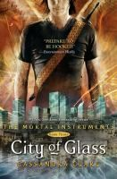 City of Glass by Cassandra Clare.  The Mortal Instruments series book 3.  Still pursuing a cure for her mother's enchantment, Clary uses all her powers and ingenuity to get into Idris, the forbidden country of the secretive Shadowhunters.