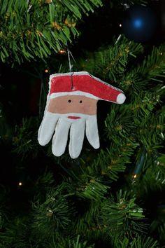 schönes DIY-Geschenk aus dem Handabdruck unserer Kleinen: