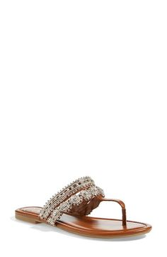 Jessica Simpson 'Roelle' Embellished Sandal (Women) available at #Nordstrom