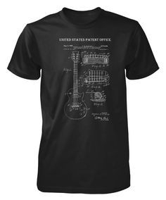 Gibson Patent Guitar Male T-shirt | Me. By, Me!