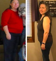 """Tina R.'s  dogged determination to stick with it!  """"Today is my 1-year Trimaversary. So thankful to have been shown this program and the help I've had along the way. I've lost 67# and would like to lose another 25#. Thank you, Pearl and Serene, for all your hard work in putting this together. I have PCOS (polycystic ovarian syndrome) and nothing else has worked this well. I finally have hope!"""" www.TrimHealthyMama.com"""