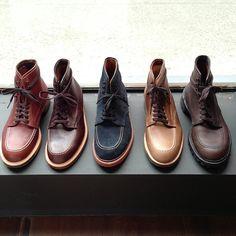 Alden Indy Boots. http://aldenshop.com/