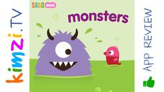Create your own colorful monster! Make your monster happy with paint, food, and decorations. When you're finished, snap a photo to share with mom and dad. Make as many monsters as you like. Each monster is unique.