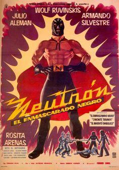 Lucha Libre - Cartel de Cine - Neutrón