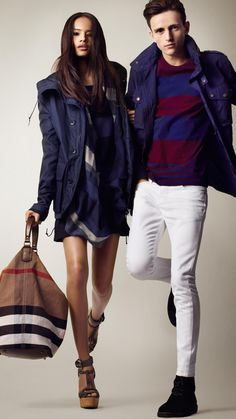 Burberry, Couples Fashion.