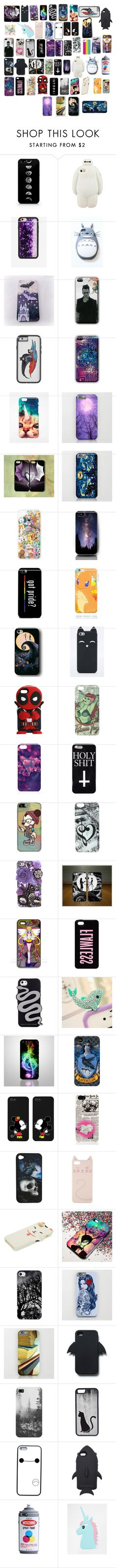 """Favorite Phone Cases (tagged)"" by lina-dunn ❤ liked on Polyvore featuring Wildflower, Mr. Gugu & Miss Go, Samsung, Anna Sui, Usagi, Marc by Marc Jacobs, Miss Girl, Disney, Kate Spade and Zara"