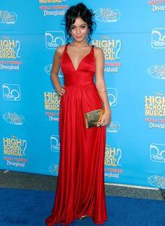 Rojo! Un vestido de gala hermoso!