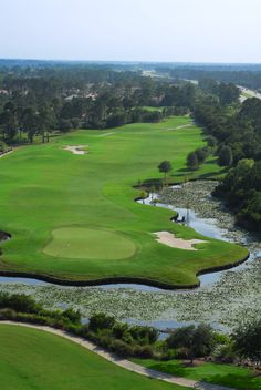 Grande Dunes Golf Course in Myrtle Beach Hole number 3