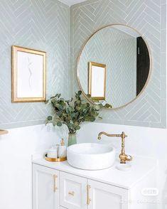 Home Decoration Interior .Home Decoration Interior White Bathroom Decor, Bathroom Interior Design, Home Interior, Bathroom Modern, Mint Bathroom, Feminine Bathroom, Bathroom Ideas, Interior Colors, Colorful Bathroom
