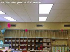 Ms. Gartman goes to First Grade!: Burlap, chevron, hot glue...ohh my!
